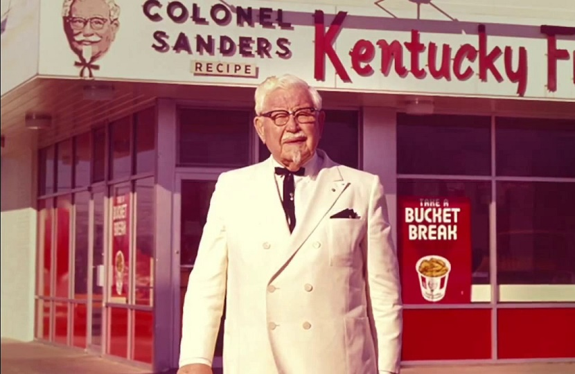 Colonel Harlan Sanders' Christian Experience